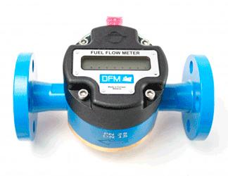 DFM Marine с дисплеем (автономный расходомер топлива)