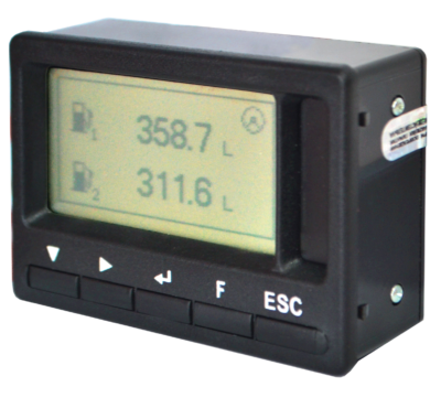 Дисплей MasterCAN Display 61. Визуальный контроль топлива и продолжительности работы техники