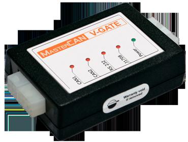 MasterCAN V-GATE: подготовка данных автомобильных шин CAN и J1708 для систем транспортной телематики