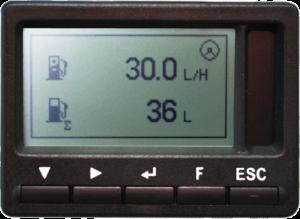 Часовой расход топлива и Расход топлива