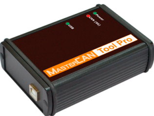 Имитатор-анализатор шины MasterCAN Tool